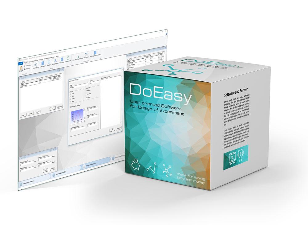 DoEasy-Software für Design of Experiment